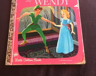 Peter Pan and Wendy: A Little Golden Book
