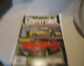 Vintage May 1987 Chevrolet High Performance Magazine, collectable