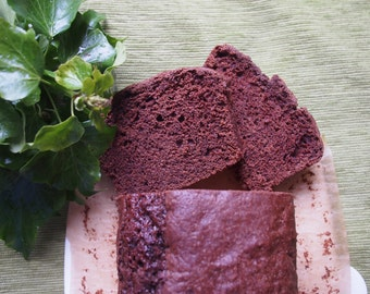Vegan Chocolate Loaf Cake
