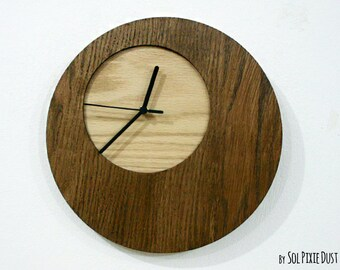 Wooden Simply Circle - Wood Wall Clock
