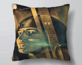 "Metropolis movie cushion large (2x6x26"")"