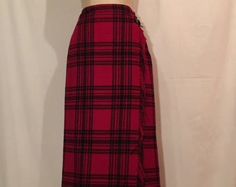 Eddie Bauer Legend Blanket Skirt NWOT
