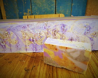 Lavender Peppermint Jewelweed Goat Milk Soap