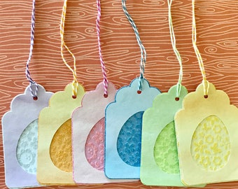 Easter Basket Tags • Easter Gift Tags • Easter Egg Tag • Glitter Tag •