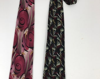 Jerry Garcia neckties. (2) Extra Long
