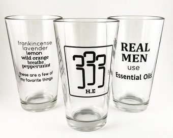 2Pack Glassware - Discounted - Essential Oils Gifts