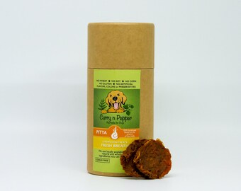 PITTA Fresh Breath Vegan Sweet Potato Chews * Grain Free * (NO Wheat,Soy, gluten, artificial colors or preservatives)