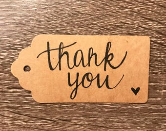 Thank You Gift Tags, Gift Tags