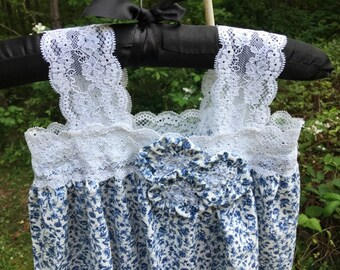Girls cotton gown/dress- READY TO SHIP- size 3T