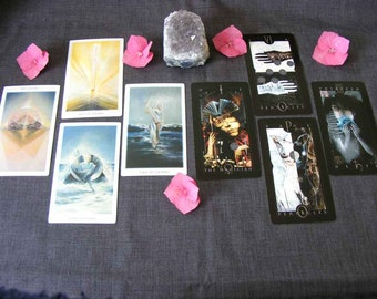 Where is it going?  - Tarot reading to track an action and see where that action will lead. Consequences and rewards.