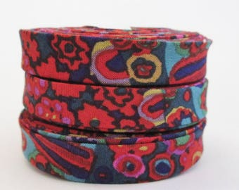 1/2 inch Double Fold Bias Tape - Kaffe Fassett - 3 yards