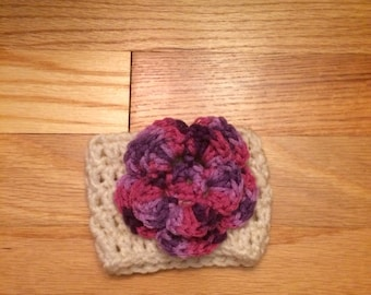 Irish rose coffee cup cozy