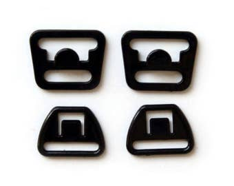 Nursing Bra Clips - Black, convert normal bras to breastfeeding bras with these maternity bra snaps