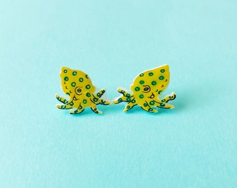 Blue-Ringed Octopus studs