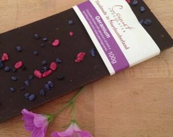Geranium Chocolate Bar