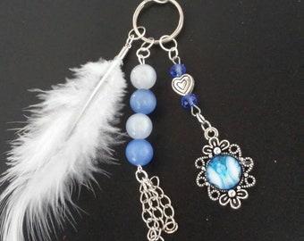 Love Angel Keyring