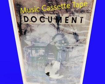 vintage cassette tape, cassette music, REM music band, Rock band, SEALED, 1987 music, R.E.M. American music, Never Opened, alternative music