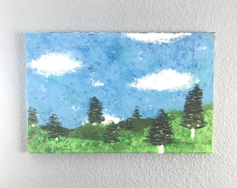Rolling Hills Original Acrylic Art