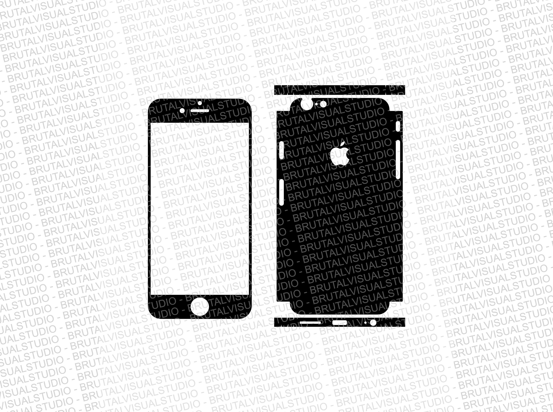 iphone 5 sticker template - iphone 6 skin cut template ver 5 templates for cutting