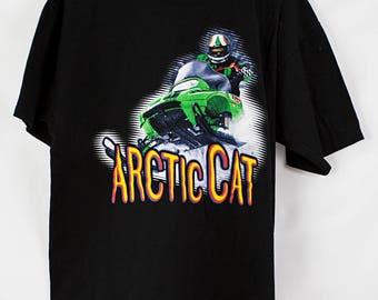 Vintage 90s Arctic Cat T-Shirt Size L