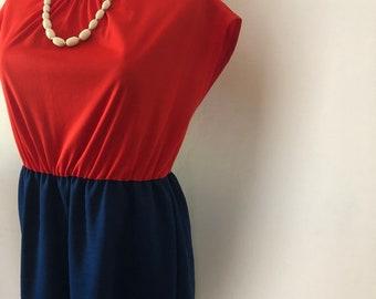 classic cuteness 50s/60s plus size dress - SZ 18/20/22