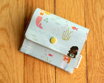 Mermaid - Accordion Wallet