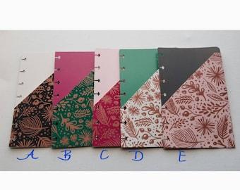 Mini happy planner folder inserts in Leafy  Designs