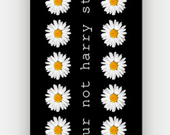 lol ur not harry styles - White Daisy - Full printed case for iPhone - by HeartOnMyFingers - ANT-134