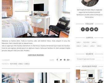 Blogger Template, Blogger Theme, Template Responsive, Minimal, Simple, Grid, Slider, Design, Blogspot - LIVE: www.bit.ly/AlexisTheme