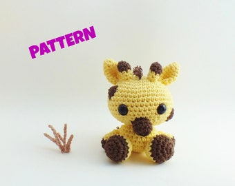 Amigurumi Giraffe Pattern, Crochet Animal Pattern, Amigurumi Animal Pattern, Crochet Amigurumi Animal Pattern, Amigurumi Pattern, Kids Toys