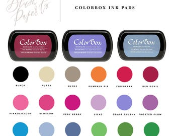 Colorbox Archival Ink Dye Stamp Ink Pad, Ink Pad, Permanent Ink Pad, Rubber Stamp Ink, Stamp Pad