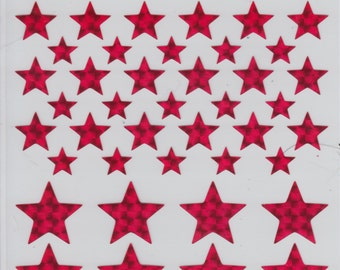 Prismatic Star Stickers ~ Ready to Ship ~ Patriotic Good Job