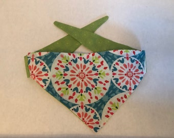 Multi Colored Kaleidoscope Bandana - only availible in x-small