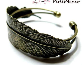 1 bracelet model ID22147 BRONZE feather