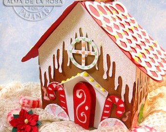 Gingerbread House Treat Box
