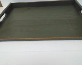 Primitive Country Distressed Stove Board Noodle Board Serving Tray