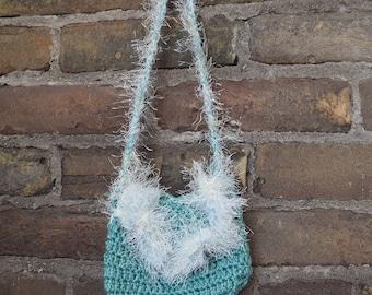 Little Girls Mini Crochet Purse