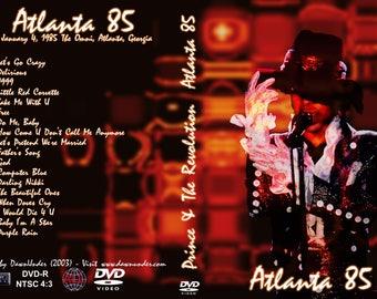 Prince Purple rain Tour Live in Atlanta dvd 1985 Ex Quality!
