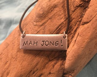 MAH JONG Necklace