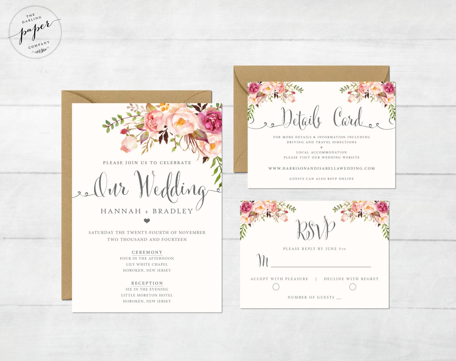 printable wedding invitation Josemulinohouseco