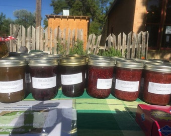 Blackberry Jam - Farmhouse Jam - Homemade Blackberry Jam - Housewarming Gift - Half Pint
