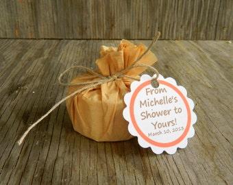 50 Custom Wedding Favors / Soap Favours / Eco Friendly Bridal Shower