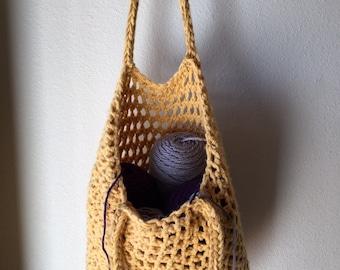 Tote Bag - a loom knit pattern