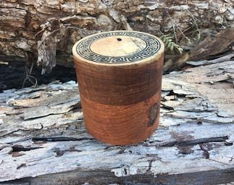 Lidded Keepsake Box Mesquite Wood
