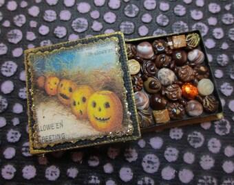 Dollhouse Miniature Box of Chocolates