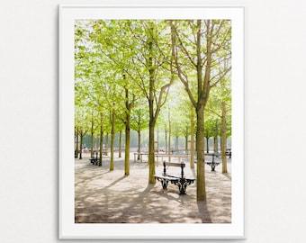 Luxembourg Gardens Photo - Paris Photograph, Paris Bedroom Decor, Paris Decor, Home Decor, Paris Print, Paris Wall Art