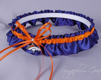 Denver Broncos Wedding Garter