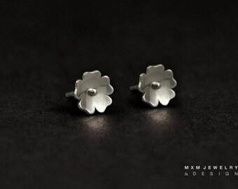 Little Primrose Flower Stud Earrings