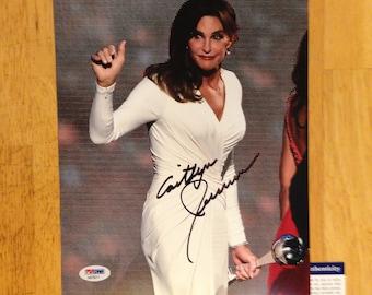 Signed Caitlyn JENNER ESPY Awards I Am Cait 8x10 PSA autographed