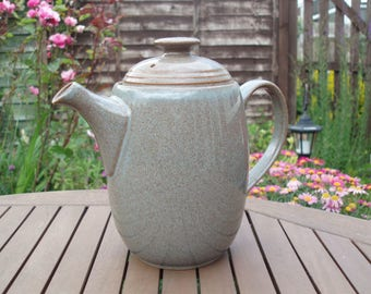 Large Vintage Denby Greystone Coffee Pot